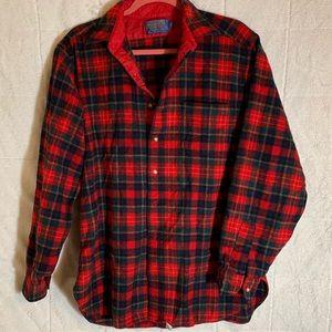 Vintage Pendleton 100% virgin wool Flannel shirt